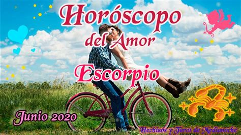 Escorpio horóscopo del Amor Junio 2020   YouTube