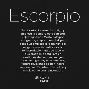 #ESCORPIO   Miastral