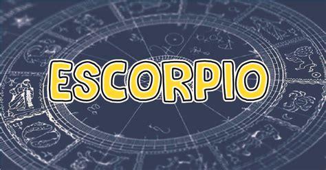 Escorpio: Tu horóscopo de hoy