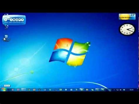 Escritorio de Windows 7   YouTube
