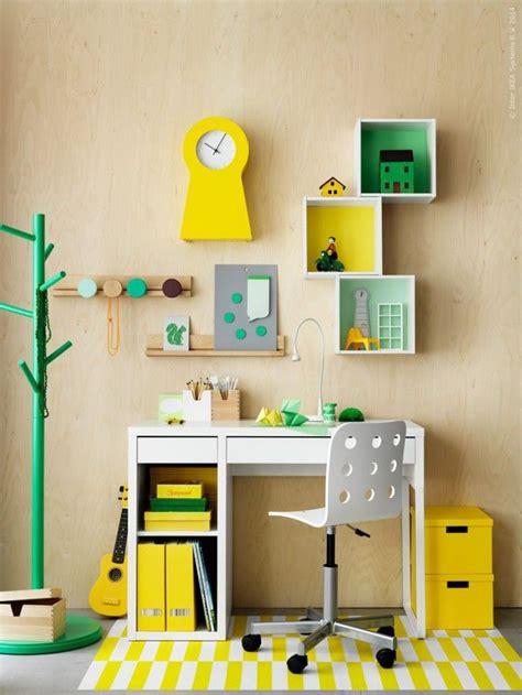 Escritorios infantiles con la mesa Micke de Ikea   Kids ...