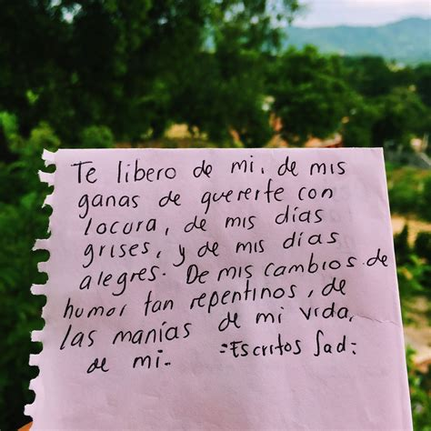 Escritos #fobias | Letras | Frases de amor, Frases de ...