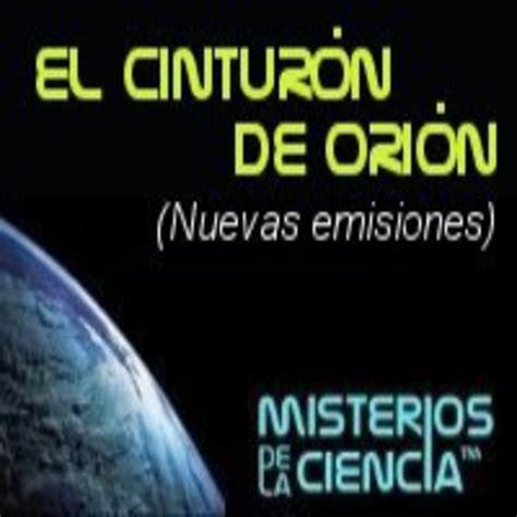 Escucha El Cinturón de Orión  nuevas emisiones    iVoox