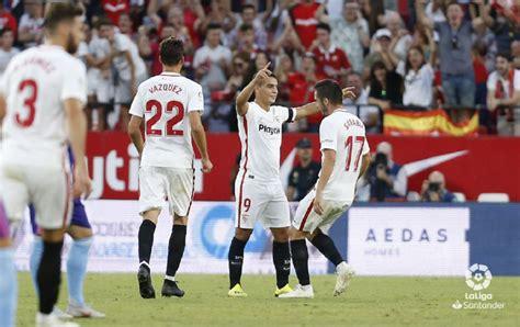 Escucha los goles que le dieron el liderato al Sevilla FC ...