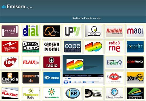 Escuchar emisoras de radio españolas online