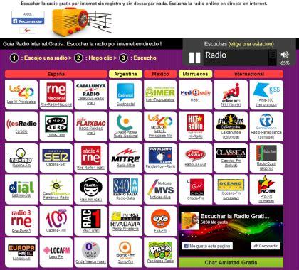 Escuchar la radio gratis por internet. Escucha la radio ...