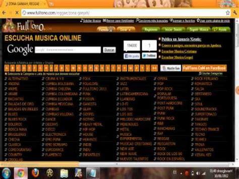 Escuchar musica en linea  gratis!!    YouTube
