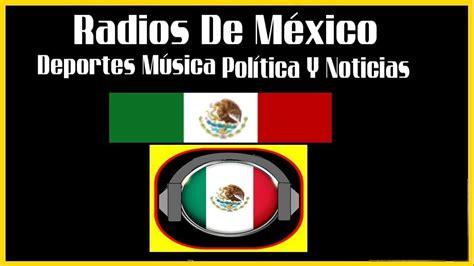 Escuchar radios de México por Internet Gratis