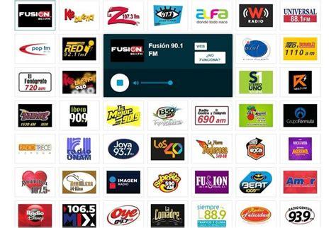 ESCUCHAR RADIOS ONLINE Y ESTACIONES DE RADIO POR INTERNET ...