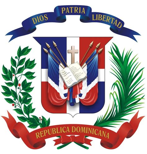 Escudo actual 2 De La Rep Blica Dominicana wallpaper ...