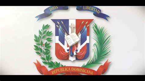 Escudo Bandera Republica Dominicana   YouTube