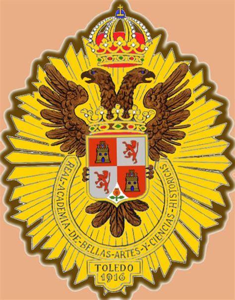 Escudo con fondo crema   Real Academia de Bellas Artes y ...