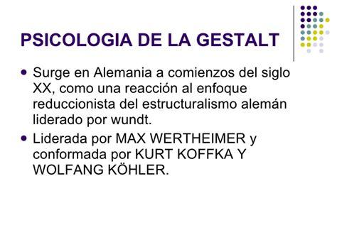 Escuela Gestalt