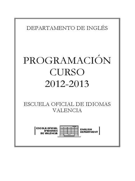 Escuela Oficial de Idiomas   Comunicación   Información