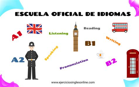 Escuela oficial de idiomas   Ejercicios inglés online