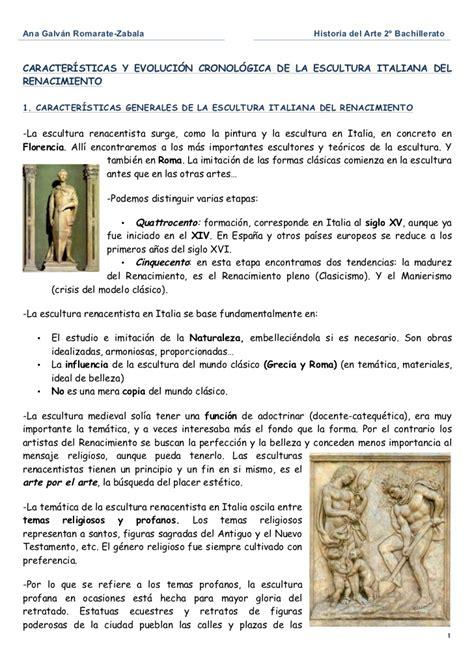 Escultura renacimiento en italia