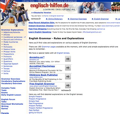 ESL Librarian: Best Grammar Sites For Teaching English to ...