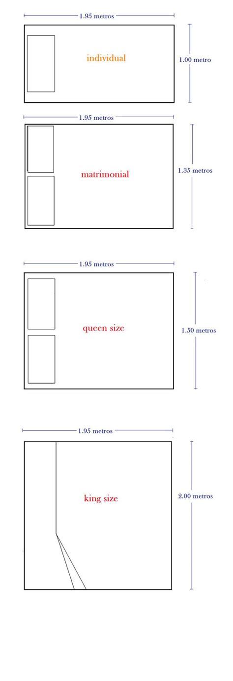Espacio y diseño 3. ESARQ, Otoño 2010: Medidas de camas