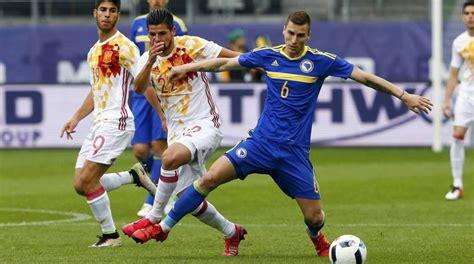 España 3 1 Bosnia: resultado, resumen y goles   AS.com