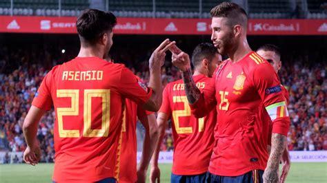 España 6   Croacia 0: resumen, resultado y goles. Nations ...