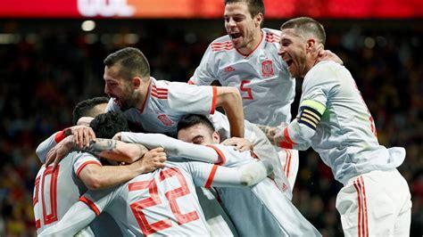 España   Argentina: Resultado y goles del fútbol