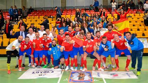 España Campeona del Mundo de fútbol sala para sordos