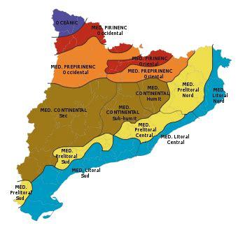 España: CATALUÑA: MEDIO FÍSICO