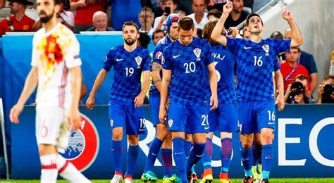 España cayó 2 1 con Croacia y jugará ante Italia por los ...