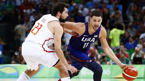 España   Estados Unidos: Baloncesto en directo