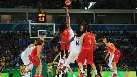España   Estados Unidos baloncesto femenino en directo ...