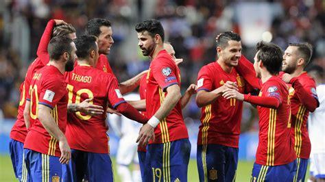 España estará en Rusia 2018 confirmó FIFA hoy