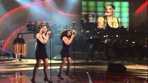 España Eurovisión 1990 Azucar Moreno   Bandido  5º Puesto ...