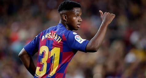 España: Fichajes FC Barcelona: Ansu Fati, rechazan 100 ...