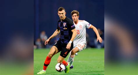España fue derrotada 2 3 frente a Croacia por  Liga de ...