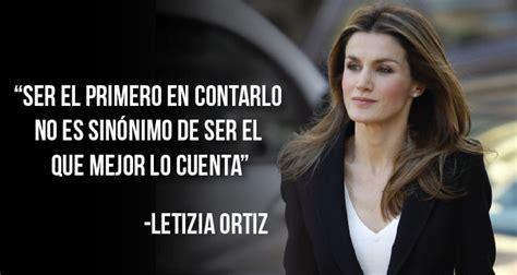 España: Letizia Ortiz destaca la importancia del ...