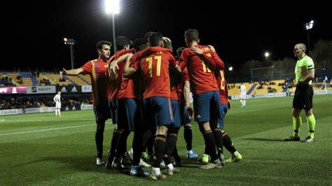 España   Macedonia: La sub 21 mantiene su apisonadora ...