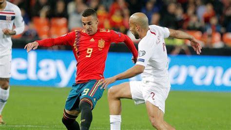 España   Noruega: Gol de Rodrigo, fútbol hoy en directo
