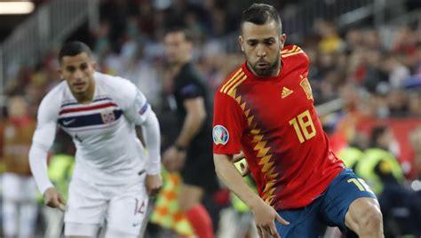 España   Noruega: Resultado y goles, en directo hoy