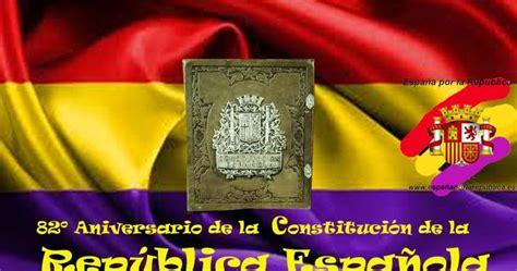 España por la República : CONSTITUCIÓN DE LA REPÚBLICA ...