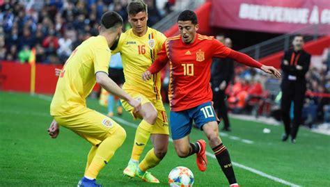 España   Rumanía: Amistoso de fútbol sub 21, hoy en directo