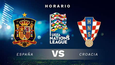 España – Croacia: horario y dónde ver el partido de la ...