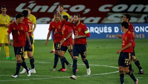España  Ucrania: resultado y goles del partido de hoy de ...