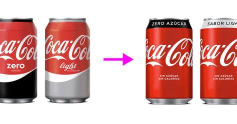 España unifica aún más todas sus Coca Colas con un diseño ...