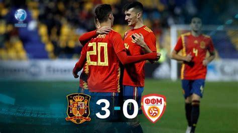 España vence a Macedonia y encarrila su pase al Europeo Sub 21