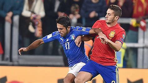 España vs Italia: ¿A qué hora y dónde lo televisan? Hoy 2 ...