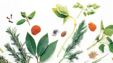 Especias y hierbas aromáticas para utilizar en tus platillos