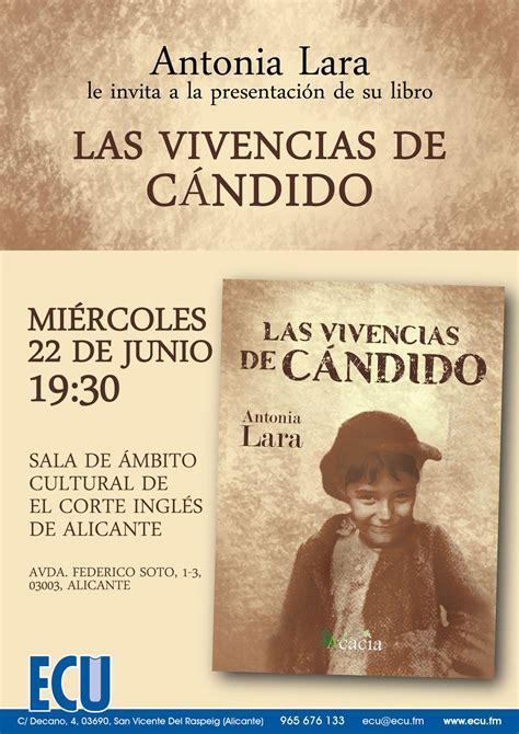 Espejo de Alicante: Presentación del libro de Antonia Lara ...