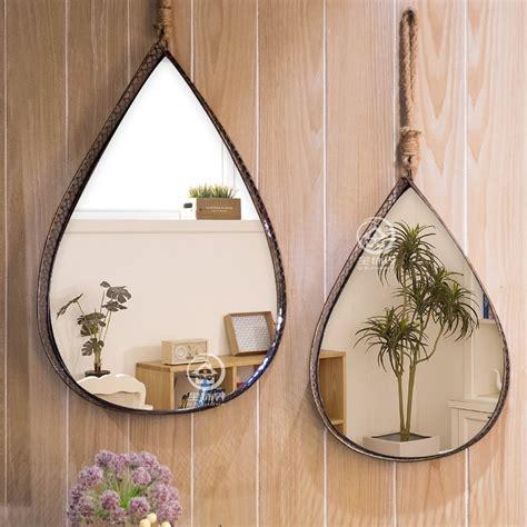 Espejo de pared antiguo con marco de Metal de cristal para ...