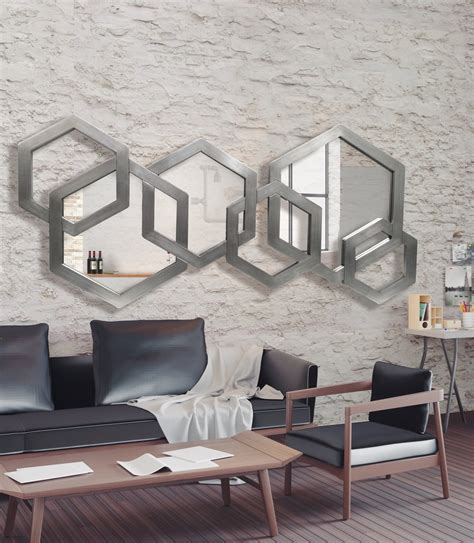 ESPEJO DE PARED DIAMOND, Espejo Moderno diseño italiano.