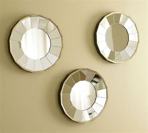 Espejo decorativo de la pared arte pared espejo redondo ...